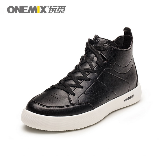 ONEMIX Corruptor Black Lightweight High-tech Unisex High Top Shoes