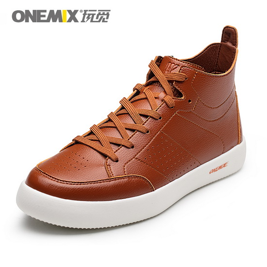 ONEMIX Corruptor Brown Travelling Outdoor Men's/High Top Shoes