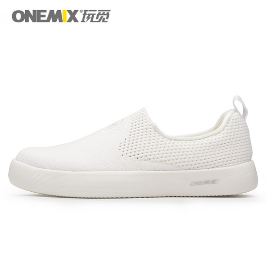 ONEMIX Peregrine White Lifestyle Walking Women's/Men's Shoes