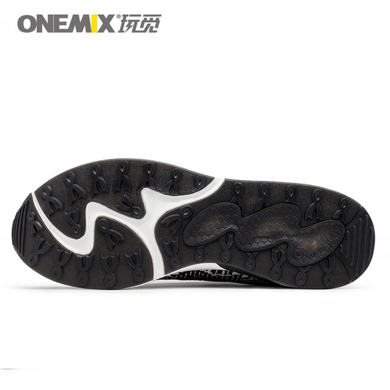 ONEMIX Warthogs Black Gym Sport Travelling Men's Shoes