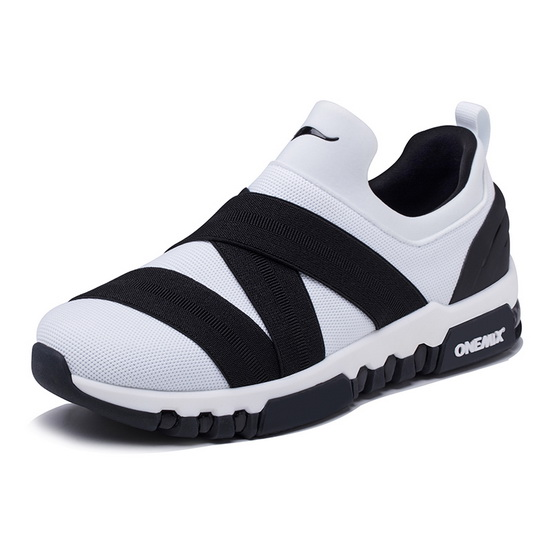 ONEMIX Tuesday White/Black Mesh Lightweight Women's/Men's Shoes