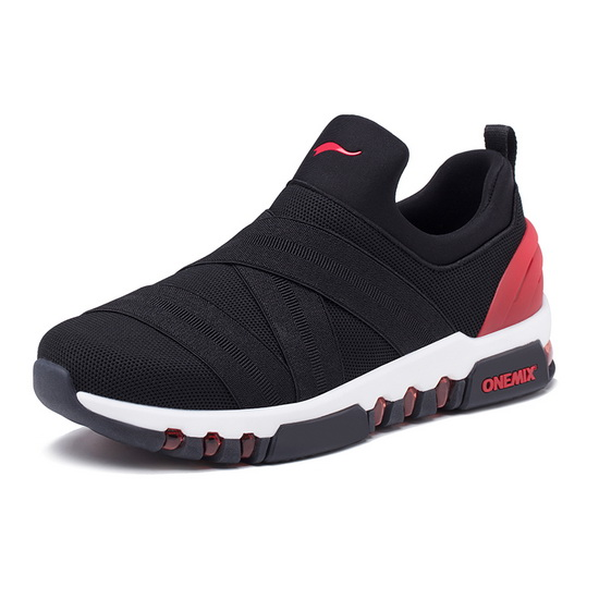 ONEMIX Tuesday Black/Red Athletic High-tech Men's Shoes