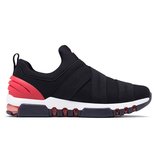 ONEMIX Tuesday Black/Red Athletic High-tech Men's Shoes - Click Image to Close
