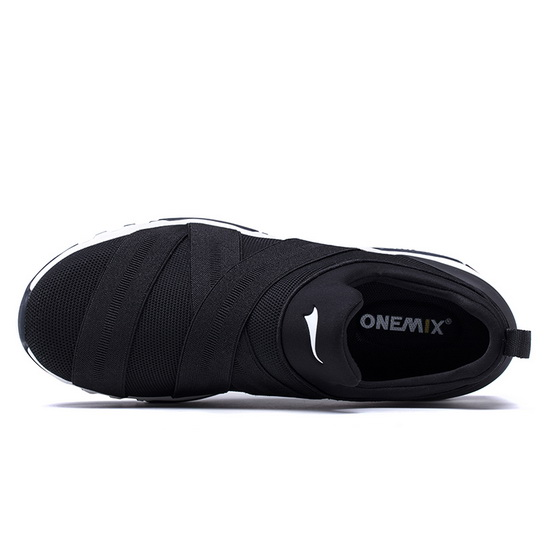 ONEMIX Tuesday Black Cushioning Travelling Men's/Women's Shoes