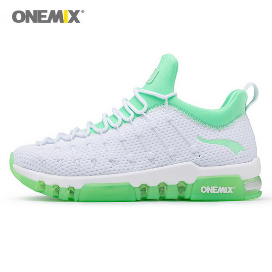 ONEMIX Wednesday White/Green Outdoor High-tech Women's Shoes