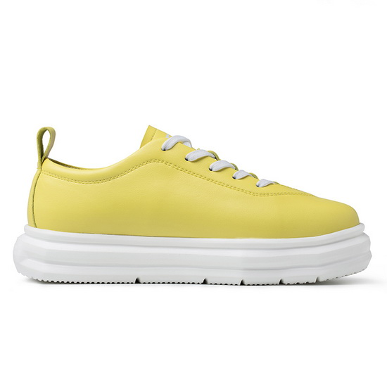 ONEMIX Thorns Yellow Trekking Unique Style Women's Shoes