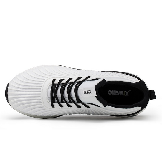 ONEMIX Hurricane White/Black Walking Lifestyle Women's Shoes