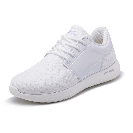 ONEMIX Friday White Breathable Gym Sport Men's/Women's Shoes
