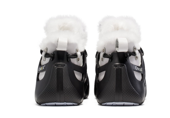 ONEMIX Winter Black/White Lightweight Breathable Men's/Women's Shoes
