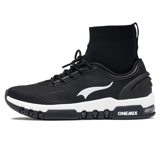 ONEMIX Siege Tank Black/White Running Trainers Unisex Multi-function Shoes