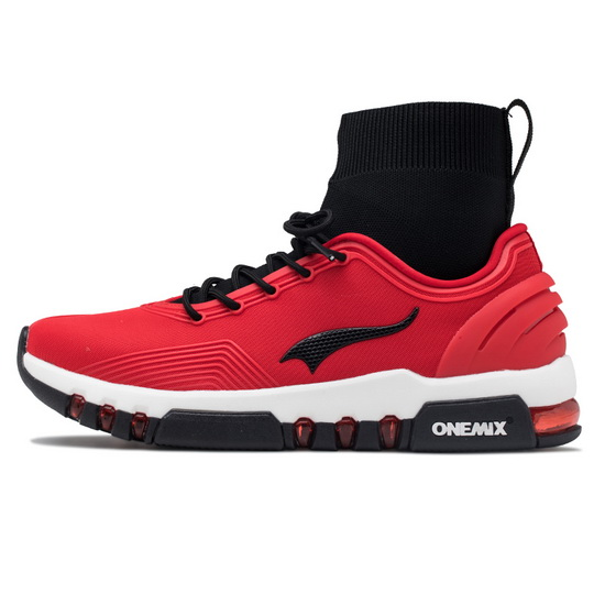 ONEMIX Siege Tank Red/White Anti-skid Athletic Men's Multi-function Shoes