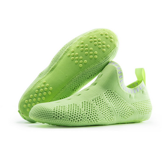 ONEMIX Saturday Green Breathable Quick-Dry Unisex Slipper Socks