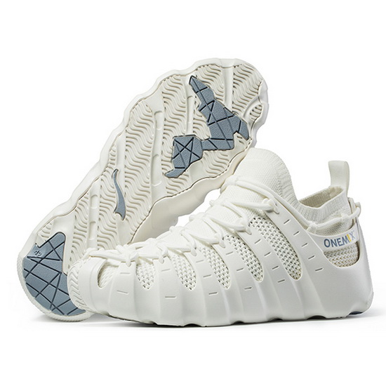 ONEMIX Sunday White Breathable Gym Sport Men's/Women's Rome Shoes