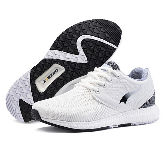ONEMIX Yesterday White/Black College Style Outdoor Women's Shoes