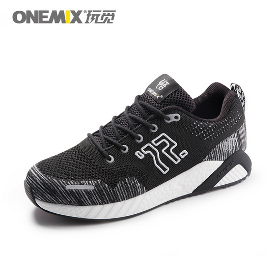 ONEMIX January Black/White Balance Lightweight Men's Shoes