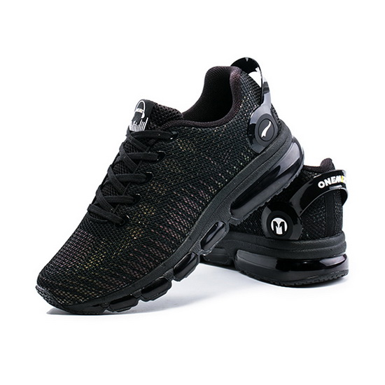 ONEMIX February Black Breathable Mesh Women's/Men's Shoes