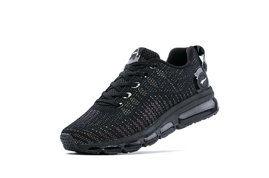 ONEMIX February Black Breathable Mesh Women's/Men's Shoes - Click Image to Close