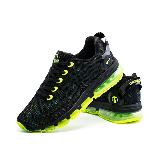 ONEMIX February Black/Yellow Walking Cushioning Men's Shoes
