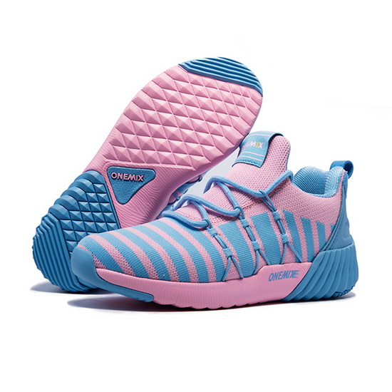 ONEMIX September Pink/Blue Outdoor Comfortable Women's Shoes