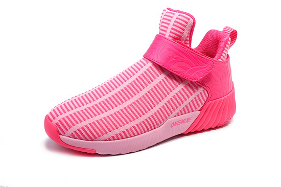 ONEMIX August Pink/White Sport Trekking Women's Shoes
