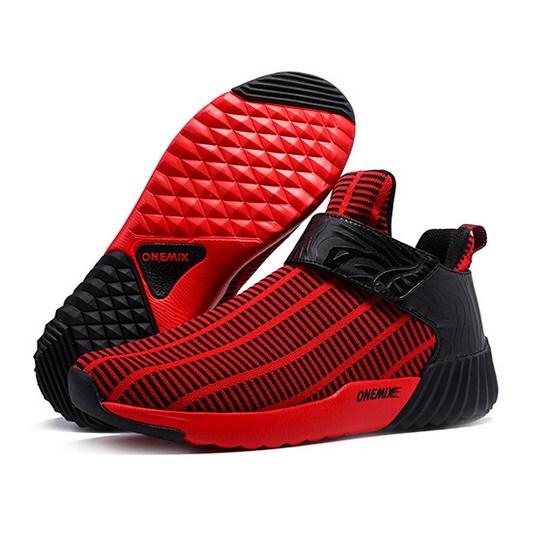 ONEMIX August Red/Black Walking Running Men's Shoes