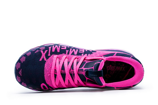 ONEMIX July Pink/Black Comfortable Lightweight Women's Shoes
