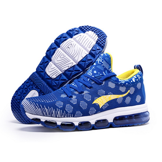 ONEMIX October Blue/Yellow Breathable Unique Style Men's Shoes