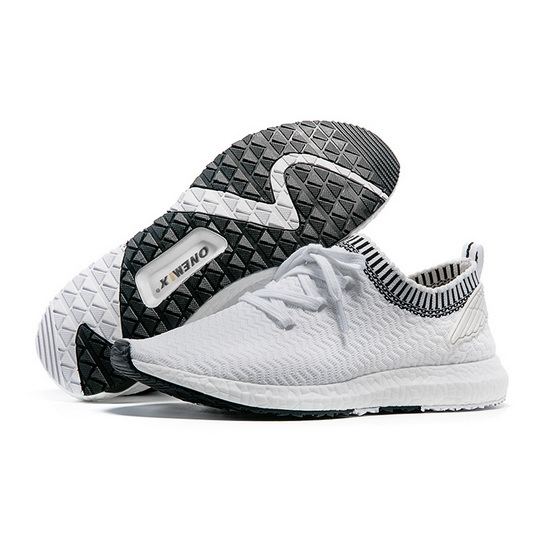 ONEMIX Seeker White Breathable Running Men's Shoes