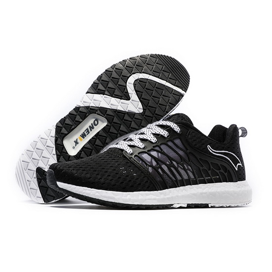 ONEMIX Lightwing Black/White Running Athletic Women's/Men's Shoes