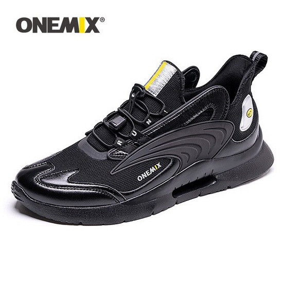 ONEMIX Uranus Black Lifestyle Lightweight Women's/Men's Dad Shoes