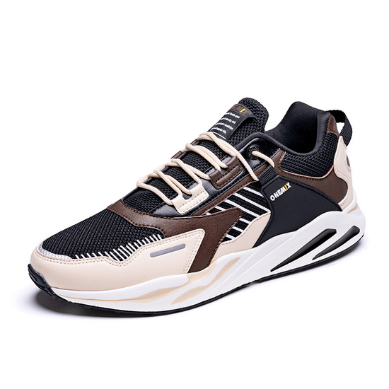 ONEMIX Delphinus Beige/Brown Lightweight Travelling Unisex Dad Shoes