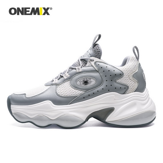 ONEMIX Colossus Gray/White Lifestyle Trekking Men's Shoes