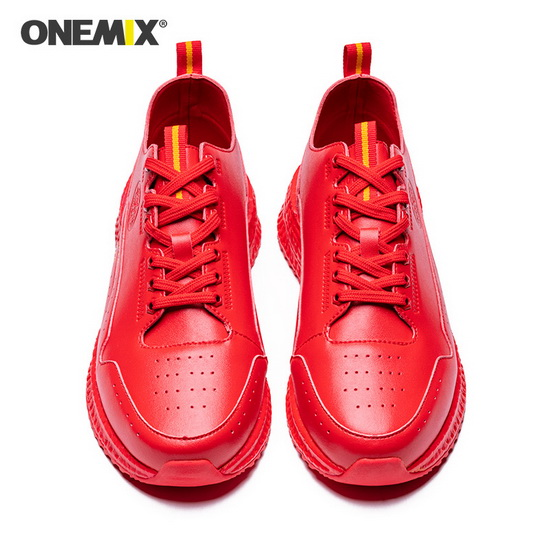 ONEMIX Scorpius Red Travelling Super Light Men's Shoes