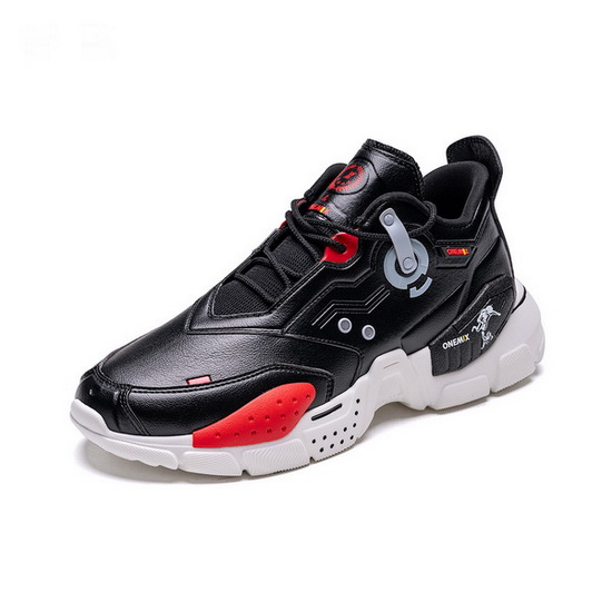 ONEMIX Black/White Space Z Travelling Men's/Women's Sneakers